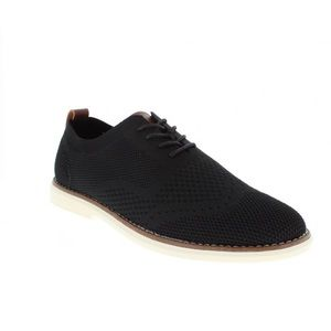 BILL BLASS Men's Fly Knit Oxford Shoes in Black